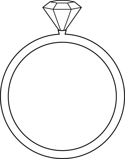 clipart of a diamond ring - photo #39
