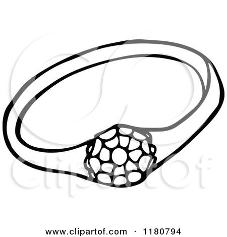 Wedding rings clip art black