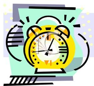 """A brass alarm clock ringing | Clipart Panda - Free ..."