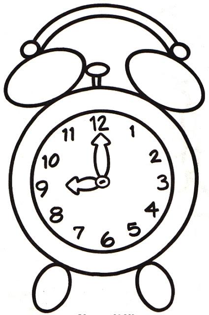 ringing alarm clock clipart