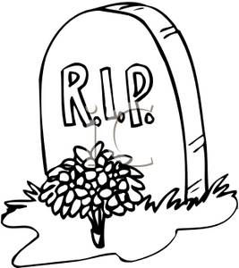 rip-clipart-cemetery-clipart-Grave_with_