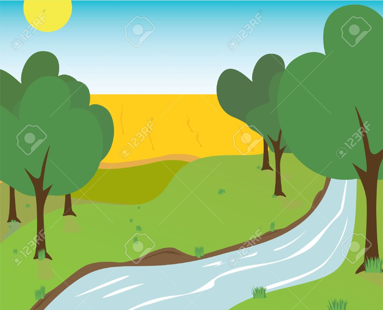 riverbank clipart clipart panda free clipart images