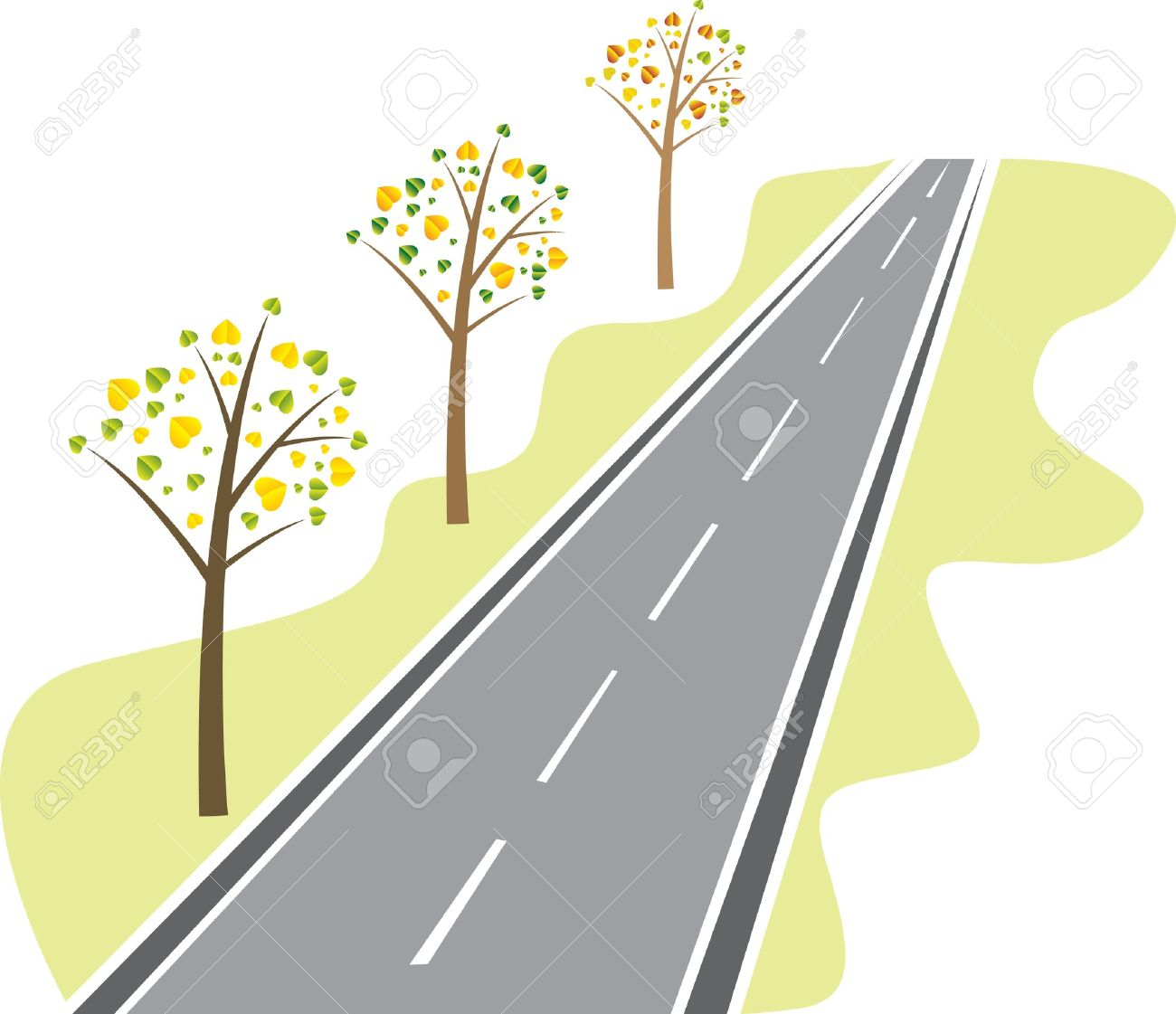 Road Clip Art Powerpoint Ppt | Clipart Panda - Free Clipart Images
