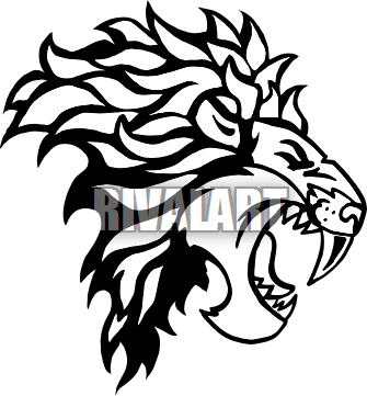Clip Art Lion Roar | www.pixshark.com - Images Galleries ...