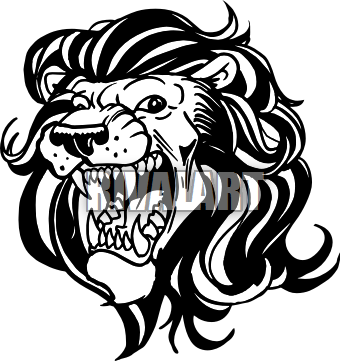 Lion Head Silhouette Png