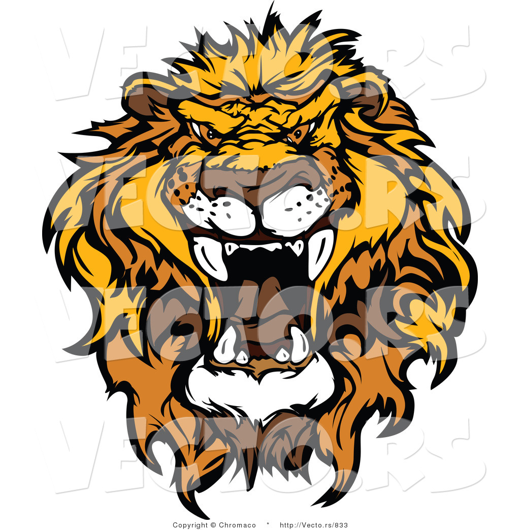 Roaring Lion Vector | Clipart Panda - Free Clipart Images