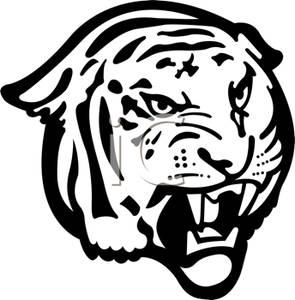 Roaring Tiger Clipart Clipart