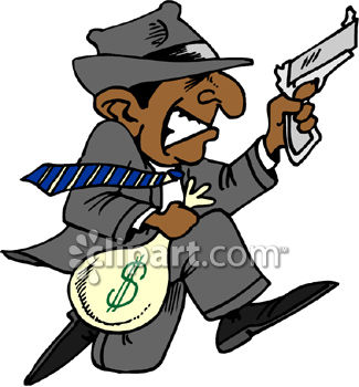 Bank Manager Clipart