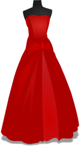 robe clipart gown md - Free Wedding Websites