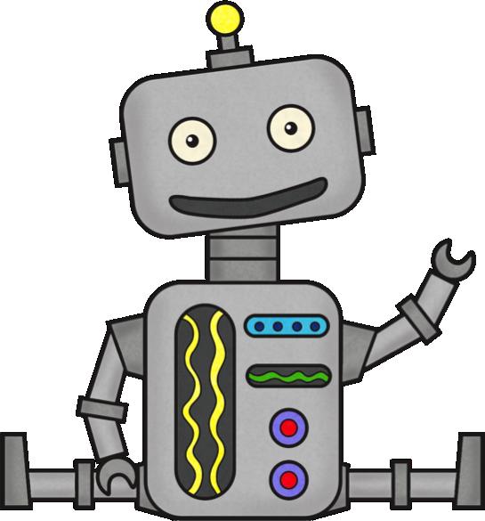 Robot Clip Art Free