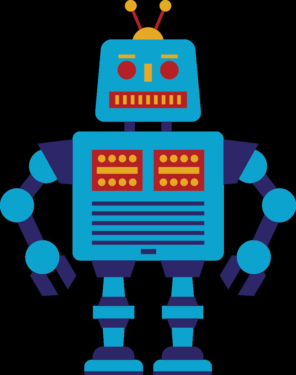 free retro blue robot clip art clipart panda free clipart images rh clipartpanda com clipart robot gratuit clipart robot gratuit