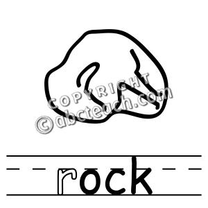 Rock Clip Art Black an... Rock Clipart Black And White