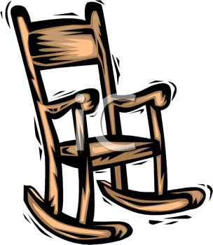 Rocking Chair Clipart rocking chair clipart black and white | clipart panda - free