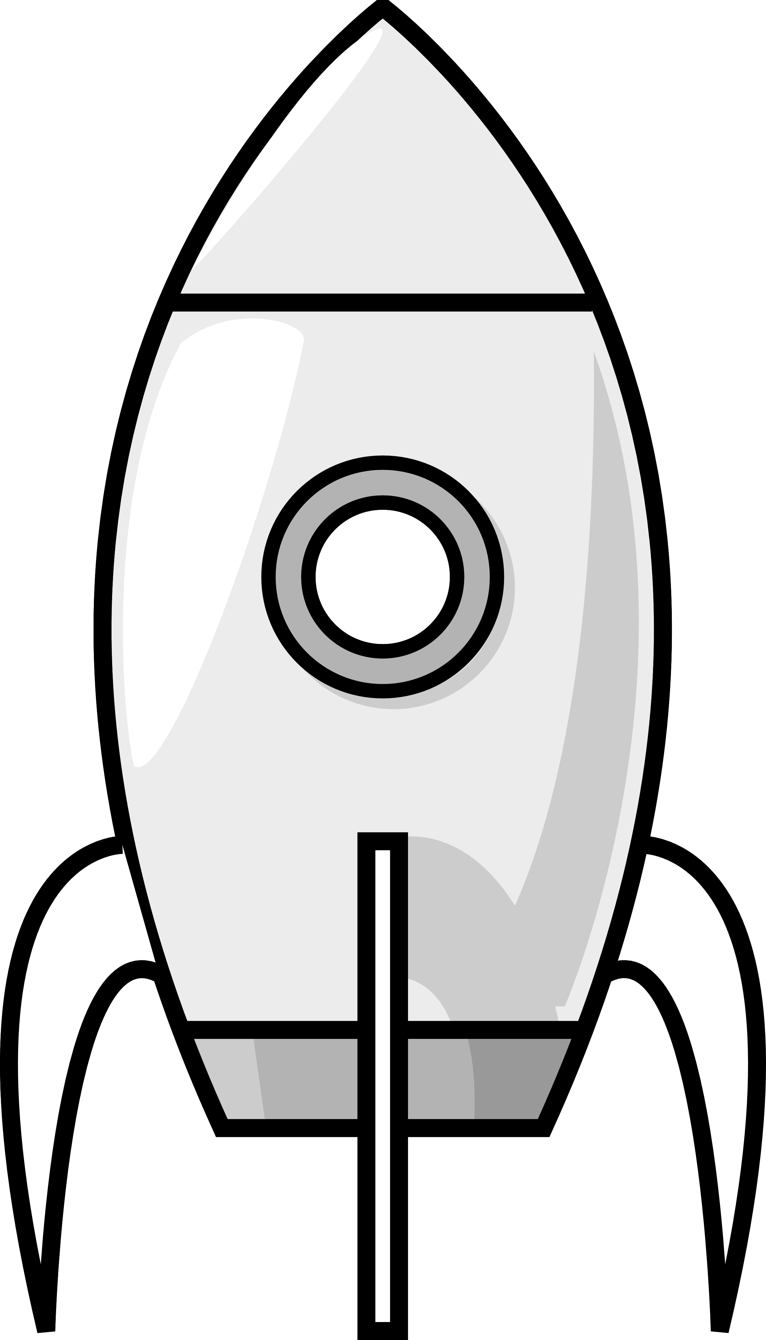 Rocket Clipart Black And White Clipart Panda Free