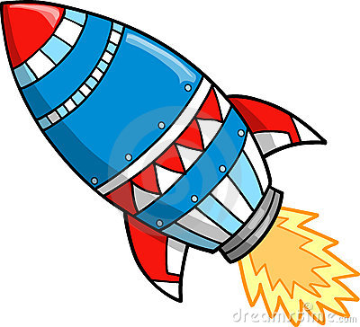 Image result for rocket clip art