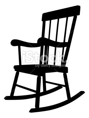 Baby Rocking Chair Clipart Chair Clip Art Black A...
