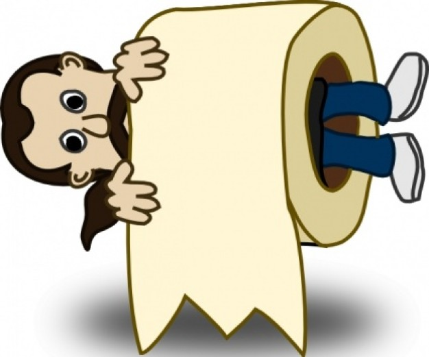Free Clipart Toilet Paper Roll