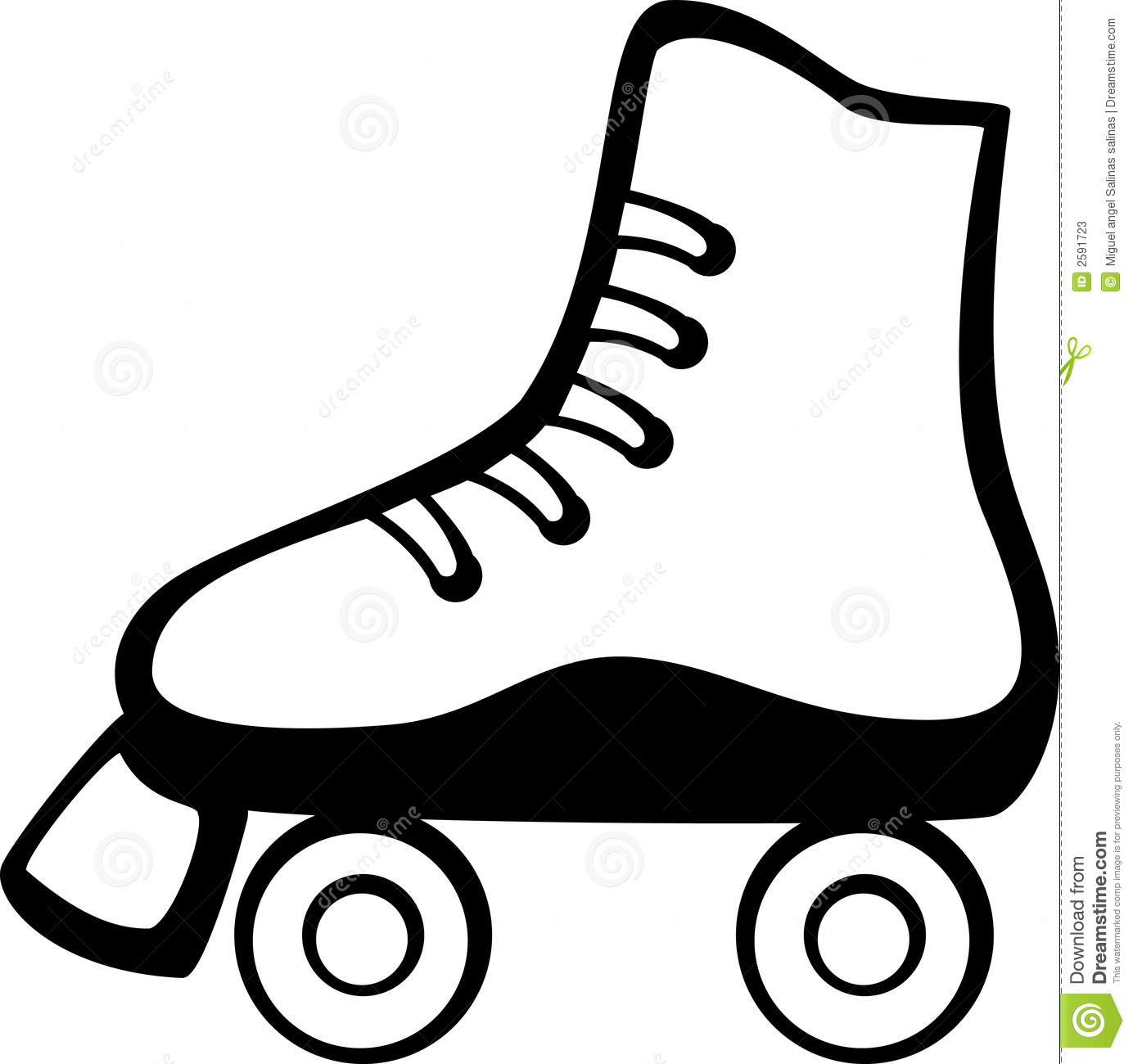 quad skate clip art - photo #6