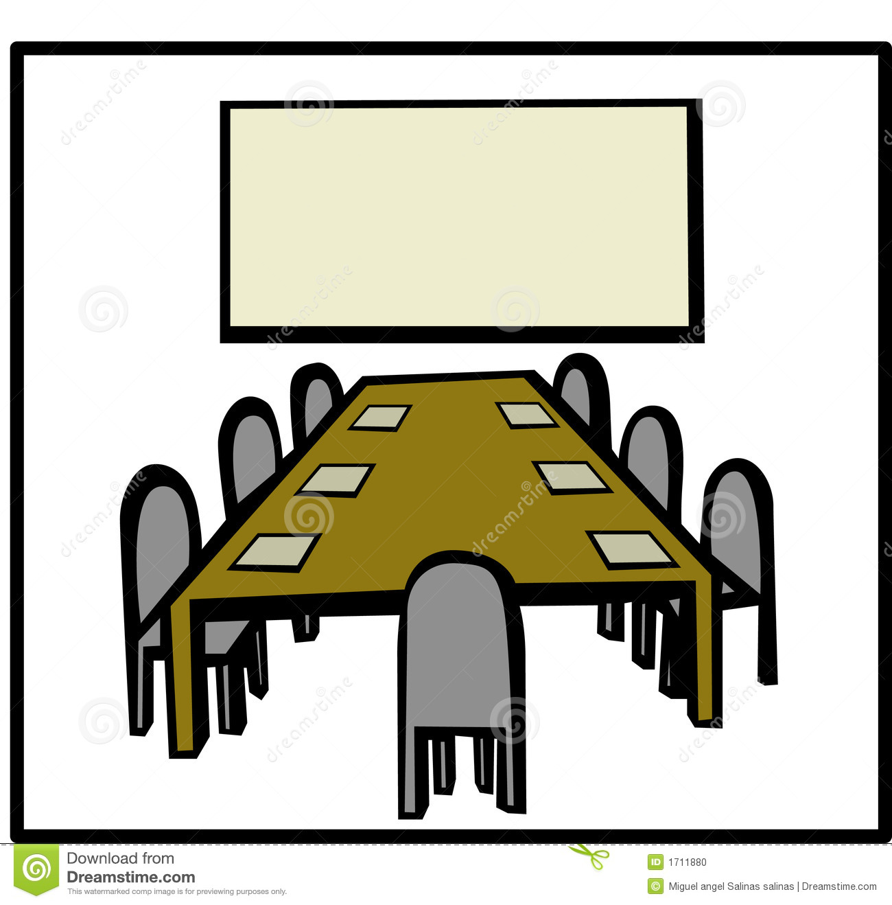 Meetign In Conference Room