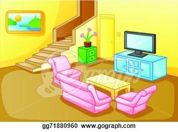 House Clip Art Living Room