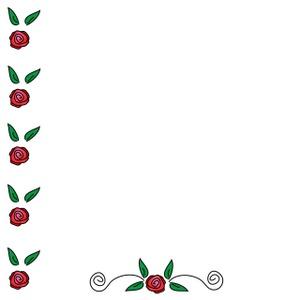 rose border clipart clipart panda free clipart images rh clipartpanda com white rose border clip art rose vine border clip art