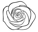 Rose Clipart Black And White | Clipart Panda - Free ...