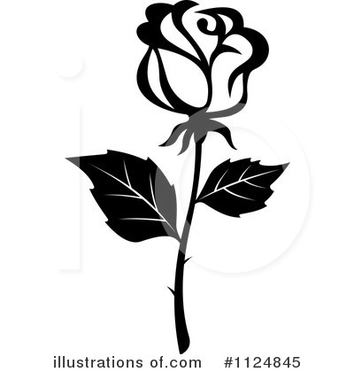 Rose Clip Art Black And White | Clipart Panda - Free Clipart Images