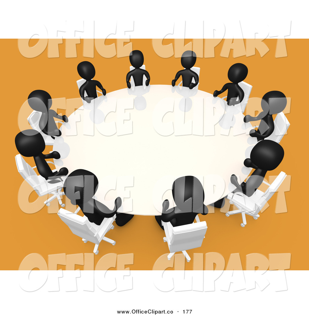 Round Table Clipart Clipart Panda Free Clipart Images - Round table clip art