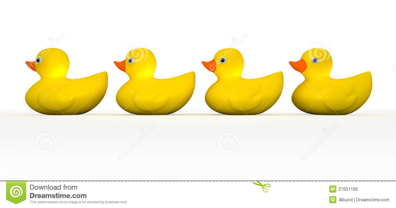 Christmas Rubber Duckies