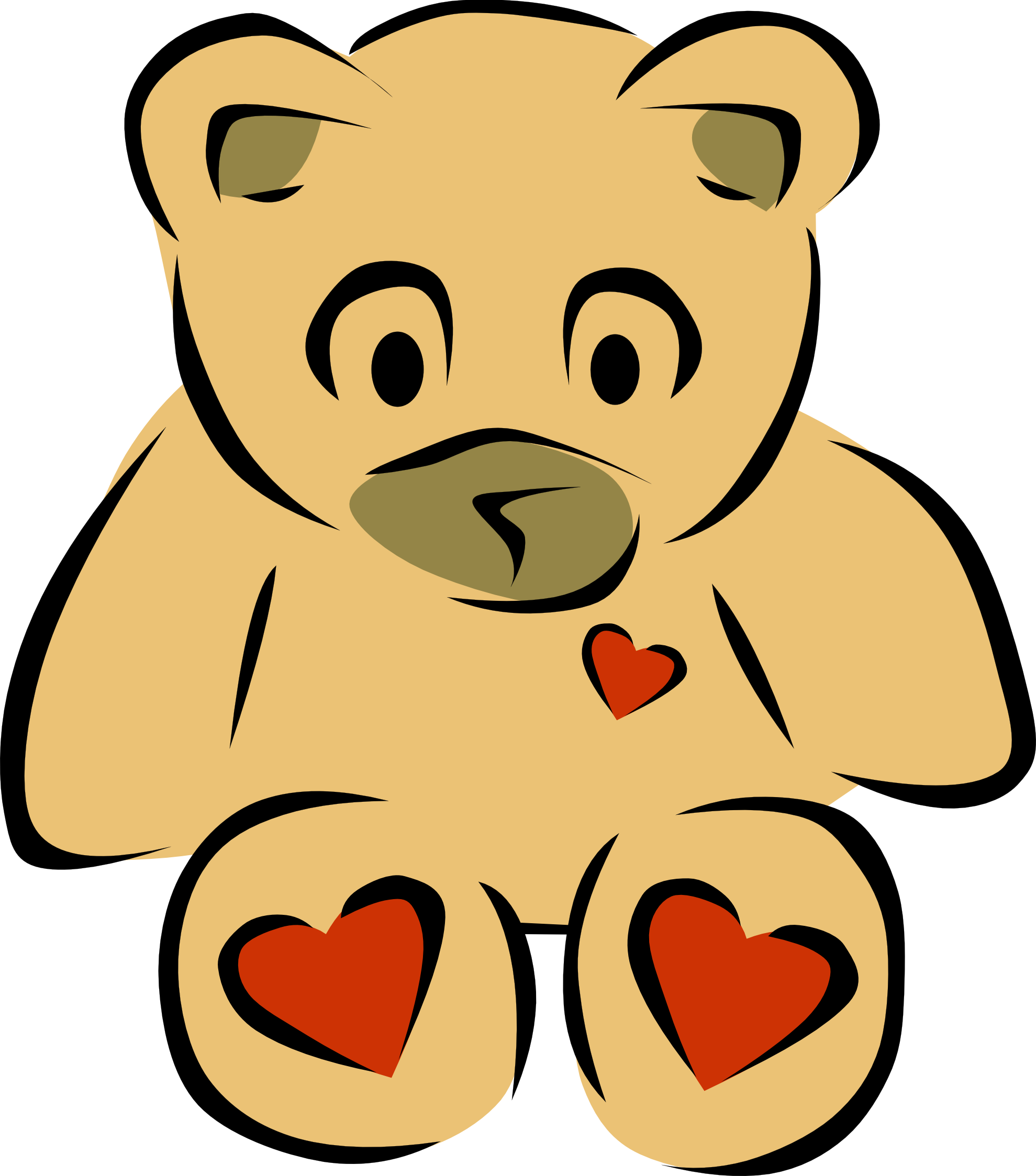 Pink Teddy Bear Clipart | Clipart Panda - Free Clipart Images