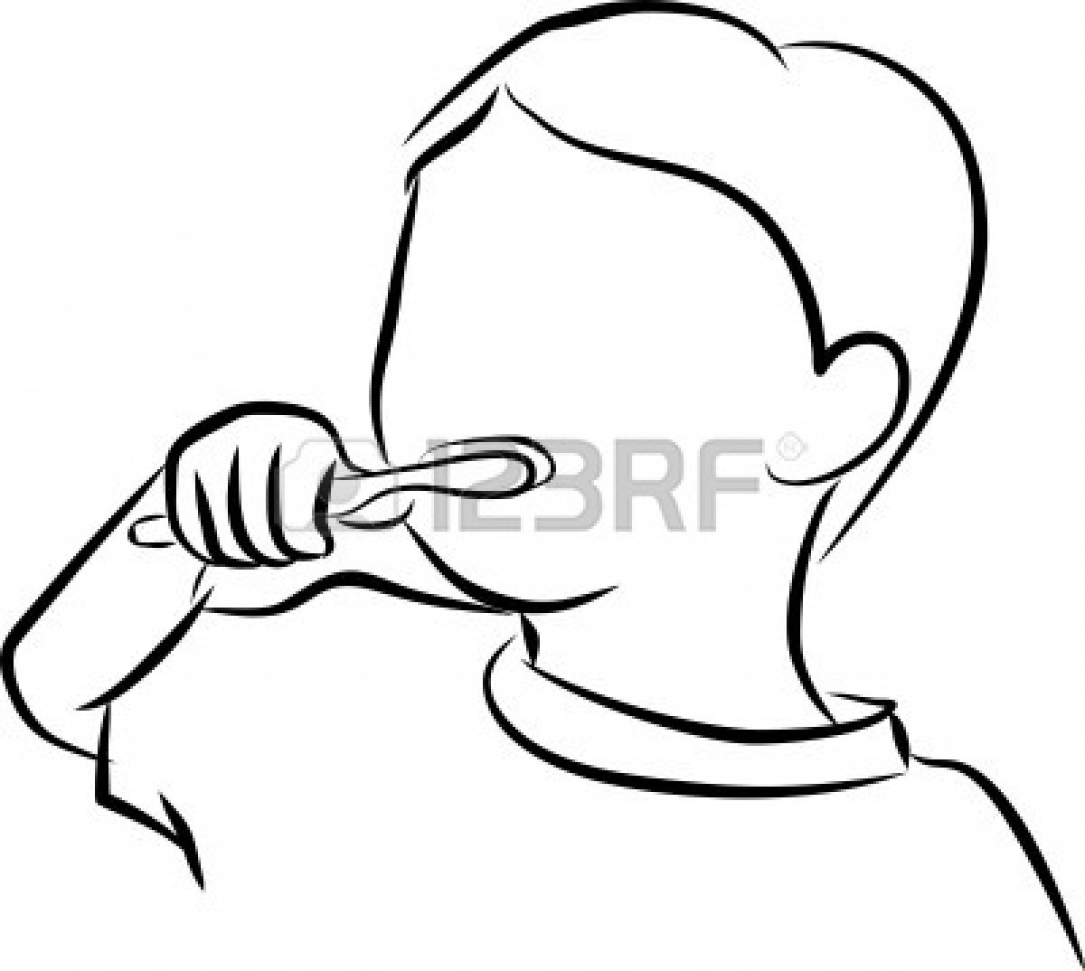 boy brushing teeth coloring pages - photo#7