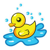 rubber%20duck%20clipart%20black%20and%20white