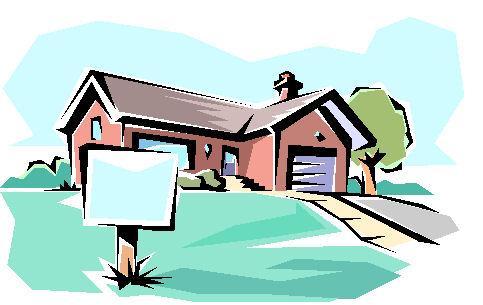 Cartoon Man Building House