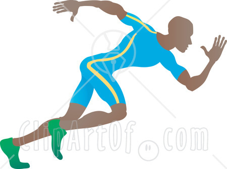 Running A Race Clipart   Clipart Panda - Free Clipart Images