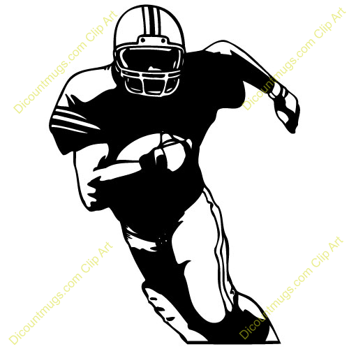 Running player clipart