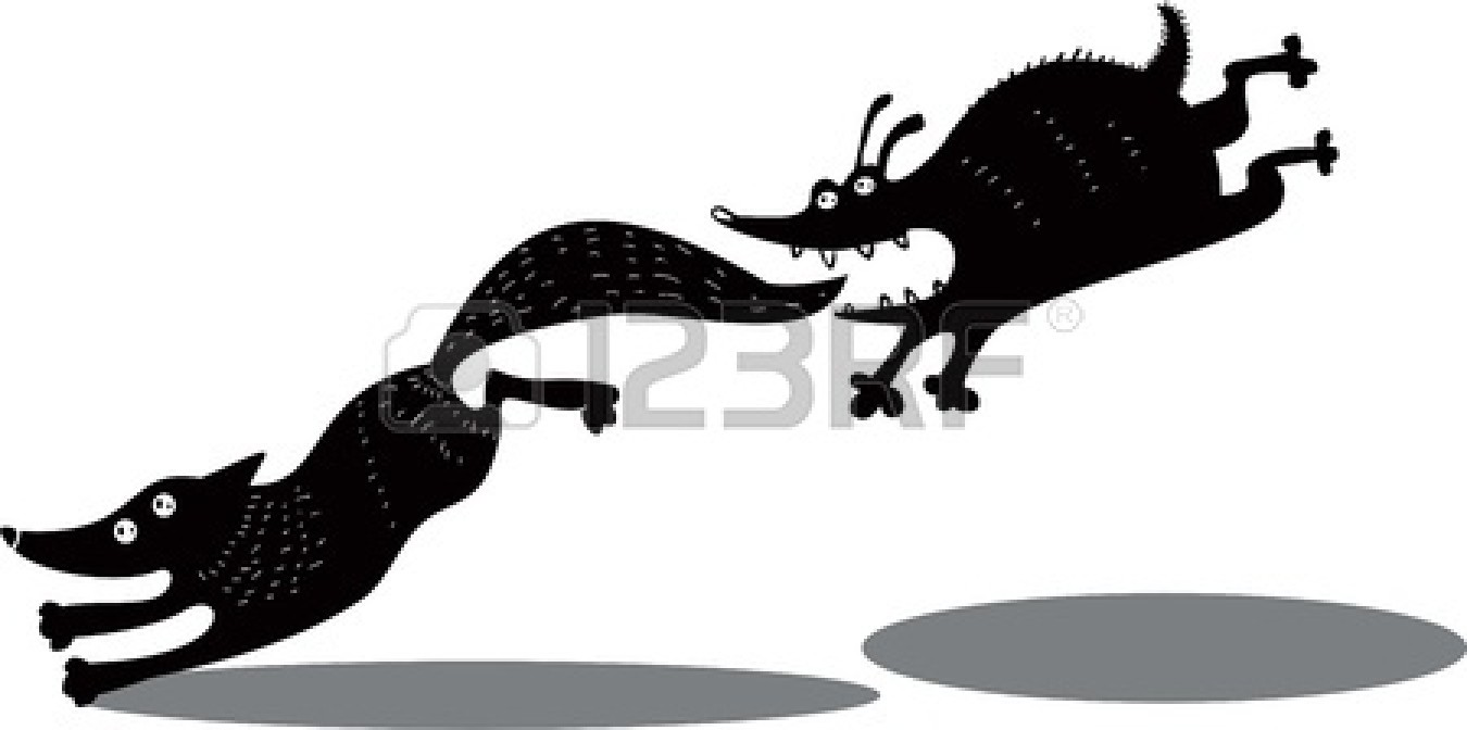 Running Fox Silhouette | Clipart Panda - Free Clipart Images