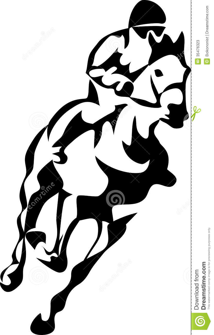 running%20horse%20clipart%20black%20and%20white