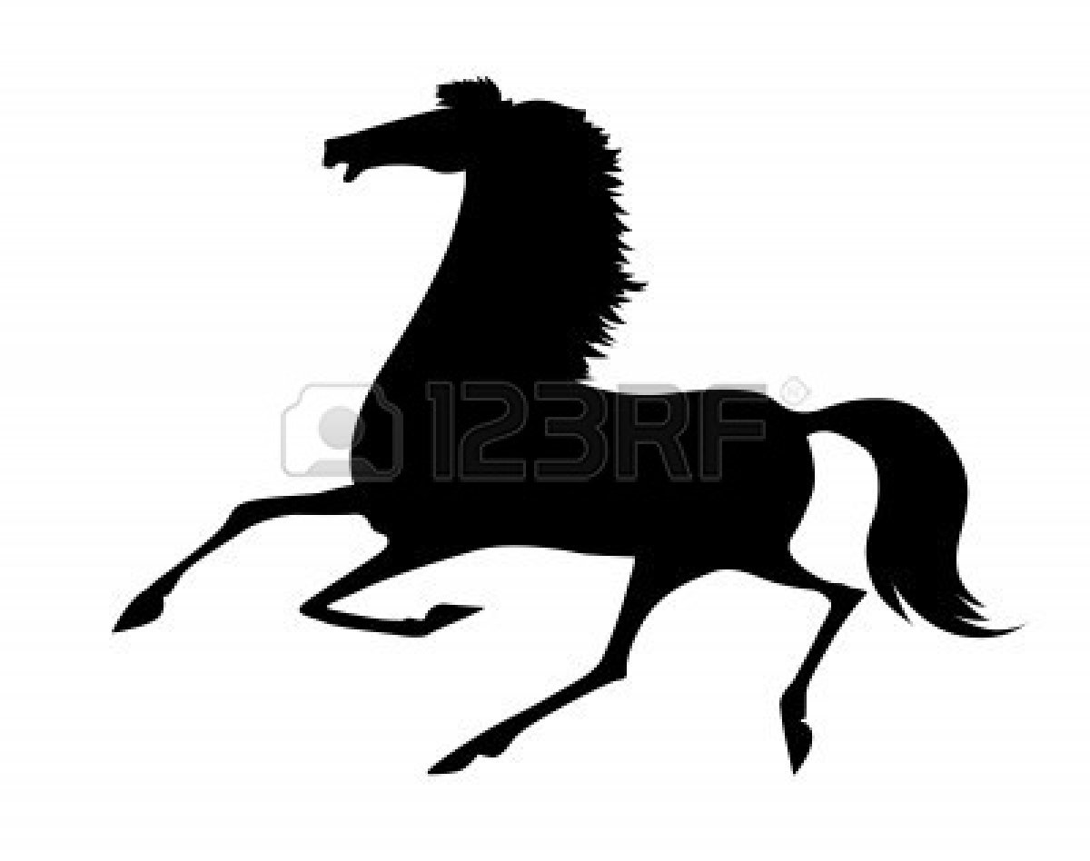 Running Horse Silhouette   Clipart Panda - Free Clipart Images