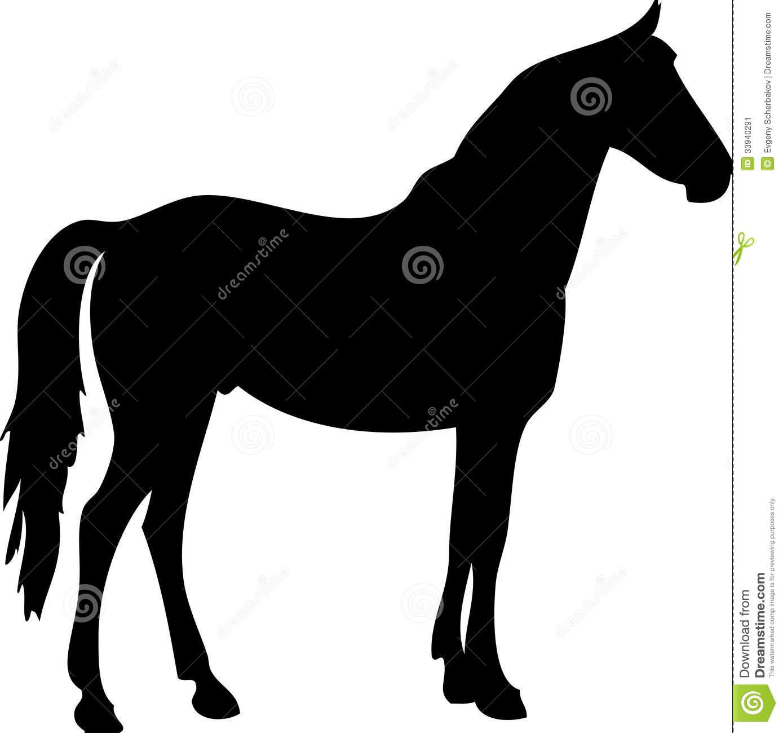 Quarter Horse Running Silhouette running horse s...