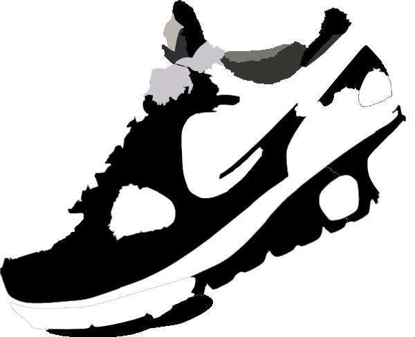 Clip Art Running Shoe Clip Art nike running shoes clipart panda free images