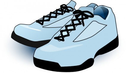 tennis shoes clipart black and white clipart panda free clipart rh clipartpanda com blue tennis shoes clipart tennis shoes clip art free