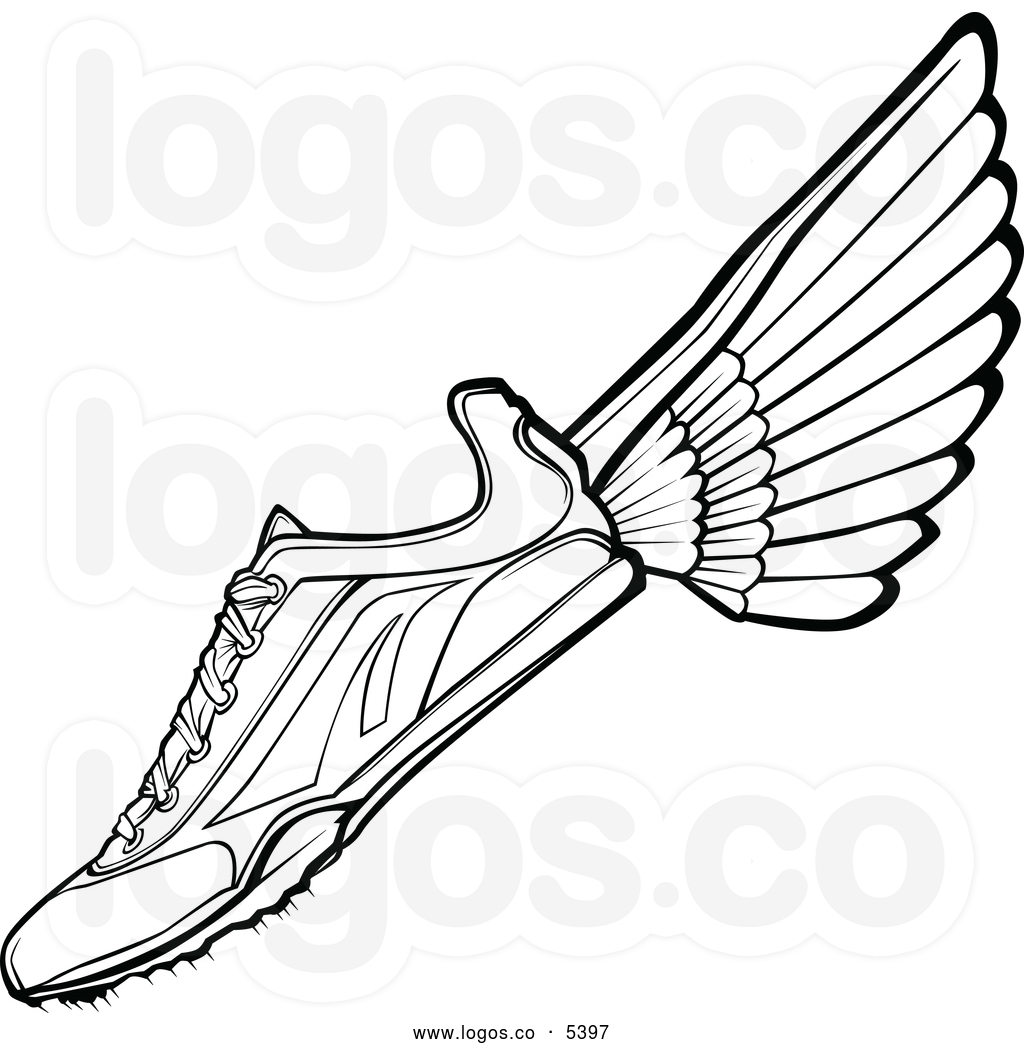 running%20shoes%20with%20wings%20clipart