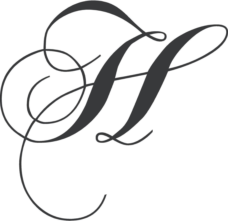 Fancy Letter H Designs