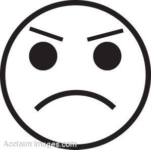 Sad Face Clipart Black And White | Clipart Panda Free Clipart Images