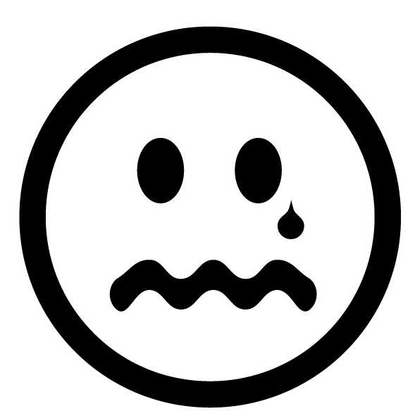 Clip Art Sad Faces Clip Art sad face clip art black and white clipart panda free clipart