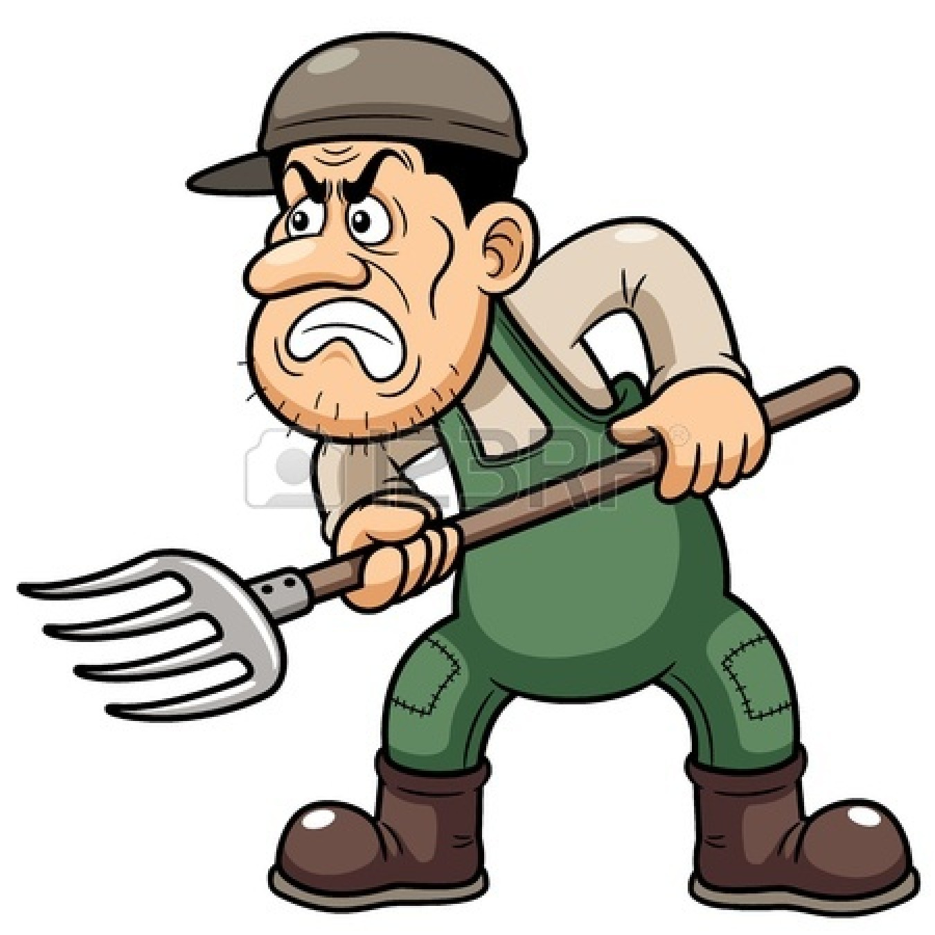 Angry Farmer Cartoon Stock Photos, Images, & Pictures - 20 ...