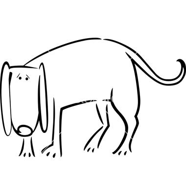 Cartoon doodle of sad dog for | Clipart Panda - Free Clipart