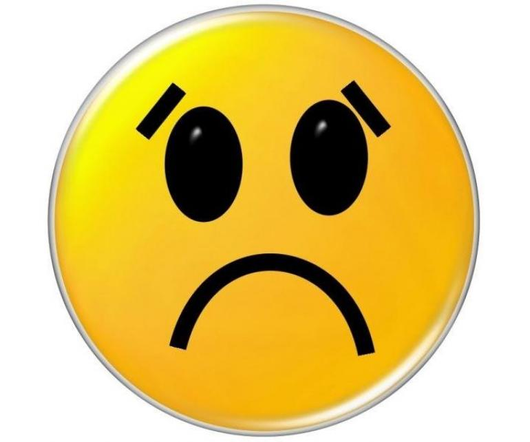 Upset Face Image Image Sad Smiley Face Clipart