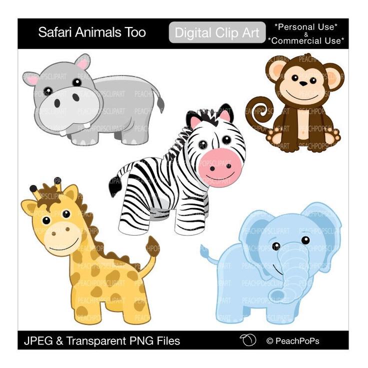cute safari animals clip art clipart panda free clipart images rh clipartpanda com safari animals clipart free baby safari clipart free