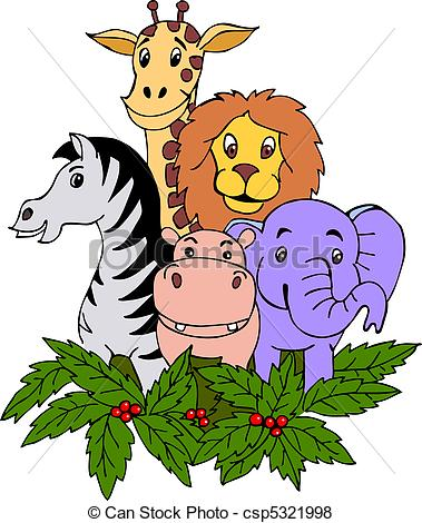 vector hand draw safari clipart panda free clipart images rh clipartpanda com safari hat clipart free safari animals clipart free
